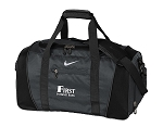 Nike Golf Black Medium Duffel