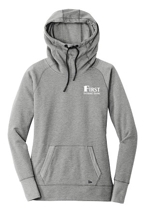 New Era Ladies Tri-Blend Fleece Pullover Hoodie